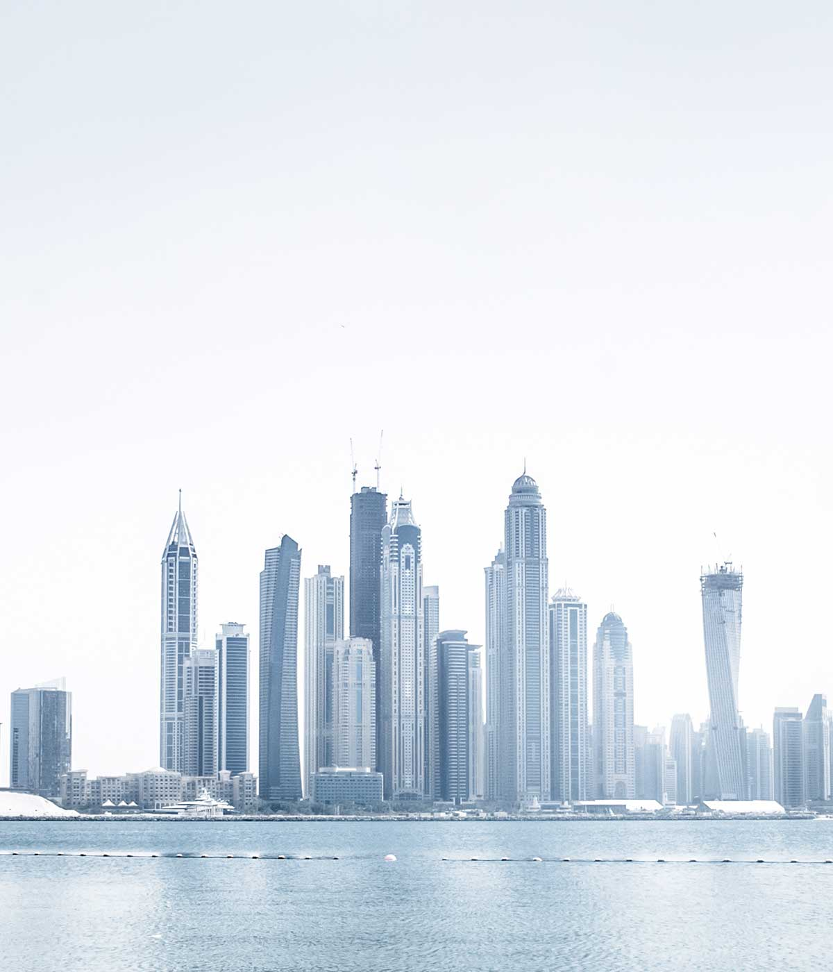 Dubai skyline, background for explore CRS's recruitment fair in Dubai