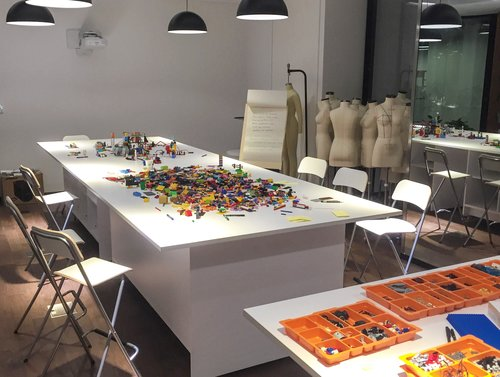 Explore CRS workshop using LEGO Serious Play materials and methodology
